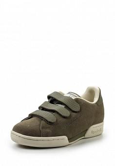 Кроссовки, Reebok Classics, цвет: хаки. Артикул: RE005AUQJI69. Женская обувь / Кроссовки и кеды / Кроссовки