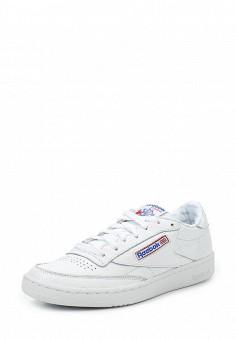 Кроссовки, Reebok Classics, цвет: белый. Артикул: RE005AUUOZ39. Женская обувь / Кроссовки и кеды / Кроссовки