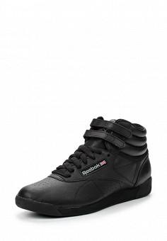 Кроссовки, Reebok Classics, цвет: черный. Артикул: RE005AWAF101. Женская обувь / Кроссовки и кеды / Кроссовки