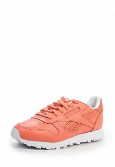 Кроссовки, Reebok Classics, цвет: коралловый. Артикул: RE005AWLWY21. Женская обувь / Кроссовки и кеды / Кроссовки