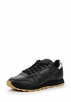Кроссовки, Reebok Classics, цвет: черный. Артикул: RE005AWQJI99. Женская обувь / Кроссовки и кеды / Кроссовки