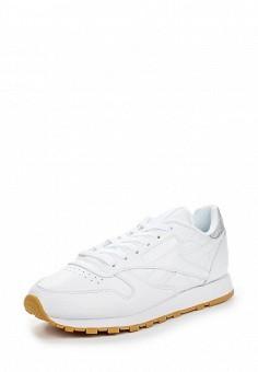 Кроссовки, Reebok Classics, цвет: белый. Артикул: RE005AWQJJ00. Женская обувь / Кроссовки и кеды / Кроссовки