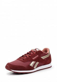 Кроссовки, Reebok Classics, цвет: бордовый. Артикул: RE005AWUYF27. Женская обувь / Кроссовки и кеды / Кроссовки