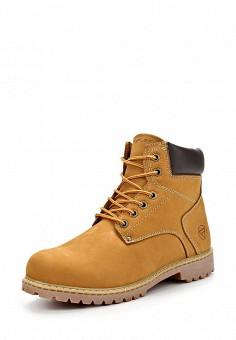 Ботинки, Reflex, цвет: коричневый. Артикул: RE024AMDGI08. Мужская обувь / Ботинки и сапоги