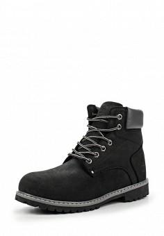 Ботинки, Reflex, цвет: черный. Артикул: RE024AMNGD95. Мужская обувь / Ботинки и сапоги