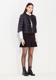 Пуховик, Red Valentino, цвет: черный. Артикул: RE025EWTDE56. Женская одежда / Верхняя одежда / Пуховики и зимние куртки