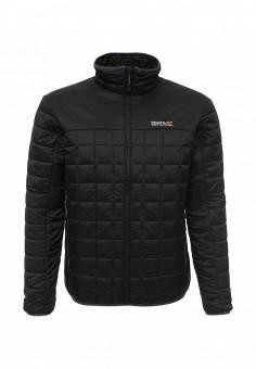 Куртка утепленная, Regatta, цвет: черный. Артикул: RE036EMJIE20. Мужская одежда / Верхняя одежда