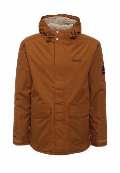 Парка, Regatta, цвет: коричневый. Артикул: RE036EMJIE34. Мужская одежда / Верхняя одежда / Парки