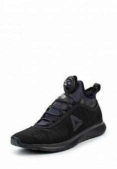 Кроссовки, Reebok, цвет: черный. Артикул: RE160AWQJV67. Женская обувь / Кроссовки и кеды