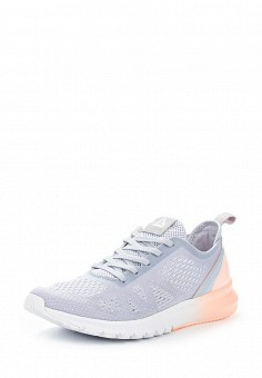 Кроссовки, Reebok, цвет: серый. Артикул: RE160AWUPR49. Женская обувь / Кроссовки и кеды