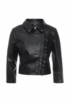 Куртка кожаная, Rinascimento, цвет: черный. Артикул: RI005EWQET15. Женская одежда / Верхняя одежда / Косухи