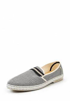 Лоферы, Rivieras, цвет: серый. Артикул: RI028AMQSM43.