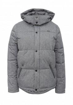 Пуховик, Roxy, цвет: серый. Артикул: RO165EWKCF36. Женская одежда / Верхняя одежда / Пуховики и зимние куртки