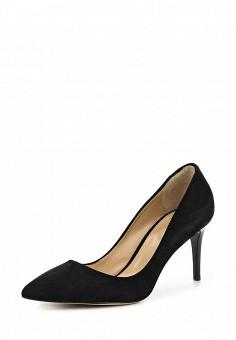 Туфли, Roberto Botticelli, цвет: черный. Артикул: RO233AWONQ71. Премиум / Обувь / Туфли
