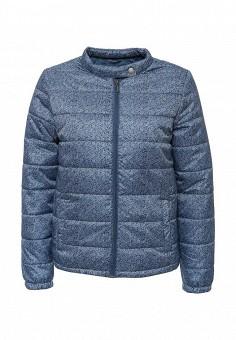 Куртка утепленная Sela, цвет: синий. Артикул: SE001EWHRA59. Женская одежда / Верхняя одежда / Демисезонные куртки