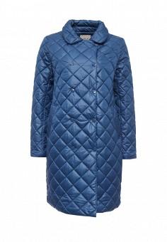 Куртка утепленная, Sela, цвет: синий. Артикул: SE001EWKJM64. Женская одежда / Верхняя одежда / Пуховики и зимние куртки
