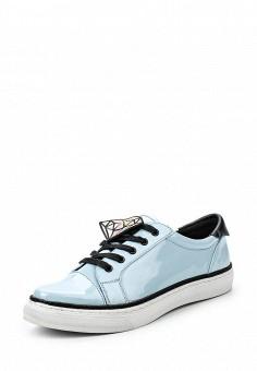 Кеды, Sixtyseven, цвет: голубой. Артикул: SI025AWSBB43. Женская обувь / Ботинки