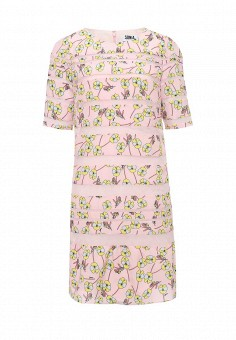 Платье, Sonia by Sonia Rykiel, цвет: розовый. Артикул: SO018EWOMU24. Женская одежда / Платья и сарафаны / Летние платья