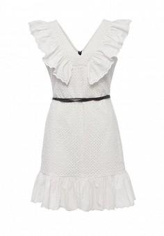 Платье, Sonia by Sonia Rykiel, цвет: белый. Артикул: SO018EWRIU48. Женская одежда / Платья и сарафаны / Летние платья