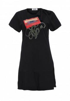 Платье, Sonia by Sonia Rykiel, цвет: черный. Артикул: SO018EWRIU56. Женская одежда / Платья и сарафаны / Летние платья