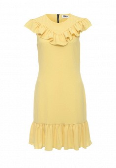 Платье, Sonia by Sonia Rykiel, цвет: желтый. Артикул: SO018EWRIU71. Женская одежда / Платья и сарафаны / Летние платья