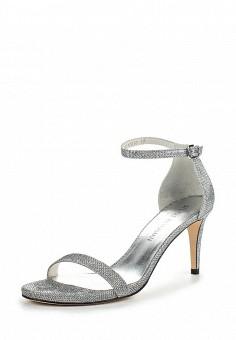 Босоножки, Stuart Weitzman, цвет: серебряный. Артикул: ST001AWOWP35. Премиум / Обувь / Босоножки