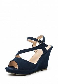Босоножки Style Shoes выполнены из искусственной замши