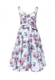 Платье, Stella Morgan, цвет: мультиколор. Артикул: ST041EWIWS87. Женская одежда / Платья и сарафаны / Летние платья