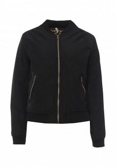 Куртка утепленная, Stella Morgan, цвет: черный. Артикул: ST045EWQXT37. Женская одежда / Верхняя одежда / Демисезонные куртки