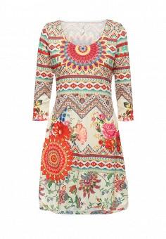 Платье, Stella Morgan, цвет: мультиколор. Артикул: ST045EWRVG83. Женская одежда / Платья и сарафаны / Летние платья