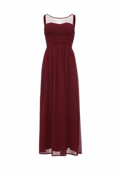 Платье, Stella Morgan, цвет: бордовый. Артикул: ST045EWRVG94. Женская одежда / Платья и сарафаны / Летние платья