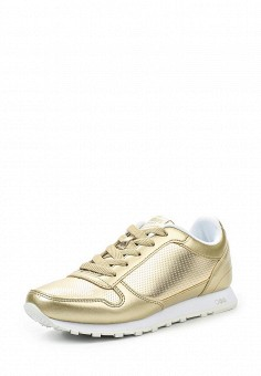 Кроссовки, Strobbs, цвет: золотой. Артикул: ST979AWSFM72. Женская обувь / Кроссовки и кеды / Кроссовки