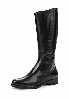 Сапоги, Tamaris, цвет: черный. Артикул: TA171AWJNC01. Женская обувь / Сапоги