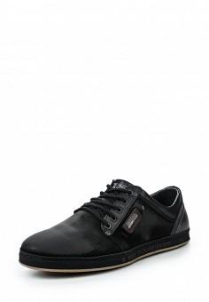 Кеды, Terra Impossa, цвет: черный. Артикул: TE467AMRML40. Мужская обувь / Кроссовки и кеды