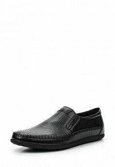 Лоферы, Tesoro, цвет: черный. Артикул: TE947AMQCG97. Мужская обувь / Туфли / Лоферы