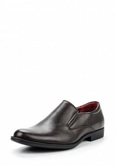Лоферы, Tesoro, цвет: коричневый. Артикул: TE947AMQCI62. Мужская обувь / Туфли / Лоферы