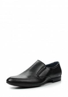 Лоферы, Tesoro, цвет: черный. Артикул: TE947AMQCI65. Мужская обувь / Туфли / Лоферы
