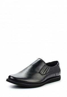 Лоферы, Tesoro, цвет: черный. Артикул: TE947AMQCI96. Мужская обувь / Туфли / Лоферы
