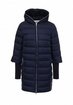 Пуховик, Tom Farr, цвет: синий. Артикул: TO005EWLJP47. Женская одежда / Верхняя одежда / Пуховики и зимние куртки