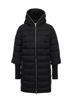 Пуховик, Tom Farr, цвет: черный. Артикул: TO005EWLJP55. Женская одежда / Верхняя одежда / Пуховики и зимние куртки