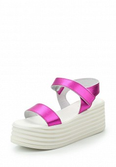 Босоножки, Topshop, цвет: фуксия. Артикул: TO029AWTQX33. Женская обувь / Босоножки