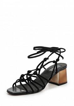 Босоножки, Topshop, цвет: черный. Артикул: TO029AWUBU95. Женская обувь / Босоножки