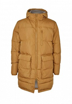 Пуховик, Topman, цвет: желтый. Артикул: TO030EMMTF60. Мужская одежда / Верхняя одежда / Пуховики и зимние куртки