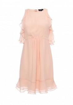Платье, Topshop Maternity, цвет: бежевый. Артикул: TO039EWSQI01. Женская одежда / Платья и сарафаны / Летние платья