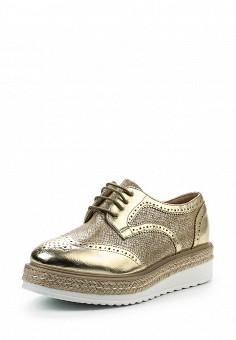 Ботинки, Tony-p, цвет: золотой. Артикул: TO041AWSES39. Женская обувь / Ботинки