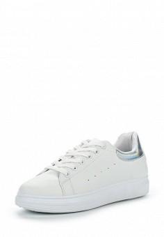 Кеды, Topland, цвет: белый. Артикул: TO048AWQRN22. Женская обувь / Кроссовки и кеды / Кроссовки