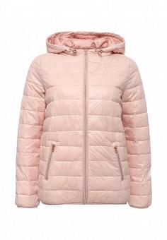 Куртка утепленная, Tom Tailor Denim, цвет: розовый. Артикул: TO793EWRPA28. Женская одежда / Верхняя одежда / Демисезонные куртки