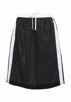 Юбка, Trussardi Jeans, цвет: черно-белый. Артикул: TR016EWOOP76. Женская одежда