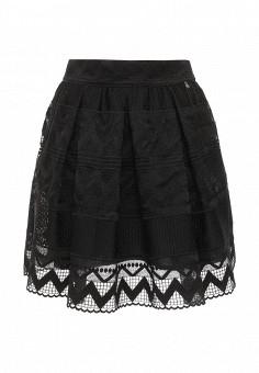 Юбка, Trussardi Jeans, цвет: черный. Артикул: TR016EWOOP84. Женская одежда