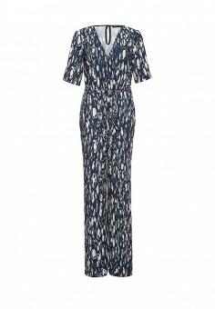 Комбинезон, Trussardi Jeans, цвет: синий. Артикул: TR016EWOOP88. Женская одежда